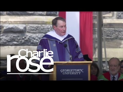 Charlie Rose: Georgetown U. Commencement Speech (May 16, 201