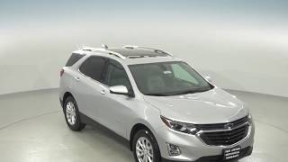 182471 - New, 2018, Chevrolet Equinox, LT, SUV, Silver, Test Drive, Review, For Sale -