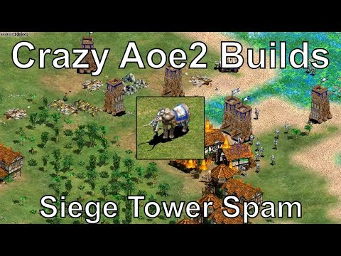 Aoe2: Siege Towers, Aztec Super Rush, and Elite War Elephants