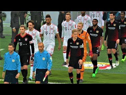 Bayer Leverkusen vs Bayern Munchen 2018 | Full Match | PES 2018 Gameplay HD