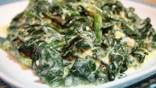 КАК ВКУСНО ПРИГОТОВИТЬ ШПИНАТ / Салат из шпината / Мезе из шпината / spinach