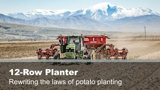 12-Row Potato Planter