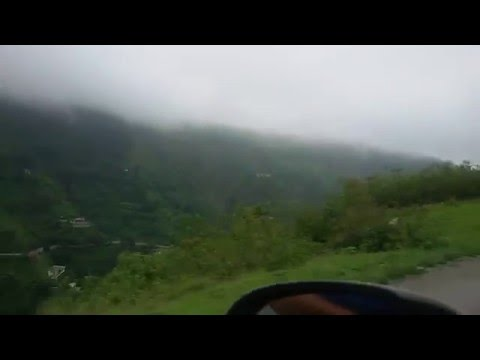 Pathankot to Dalhousie on Road Fog Awesome weather Beautiful