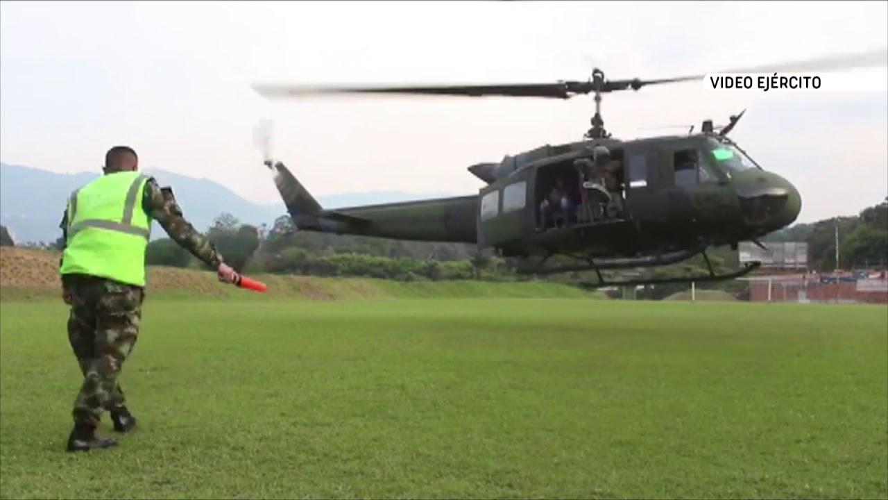 Download Ejército rescata a tres campesinos en zona rural de Buriticá - Telemedellín
