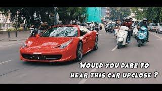 F1 Sounding Ferrari in Bangalore !! Novitec Inconel Ferrari 458