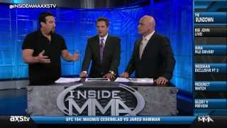 Dana White and Big John McCarthy Talk Steve Mazzagatti
