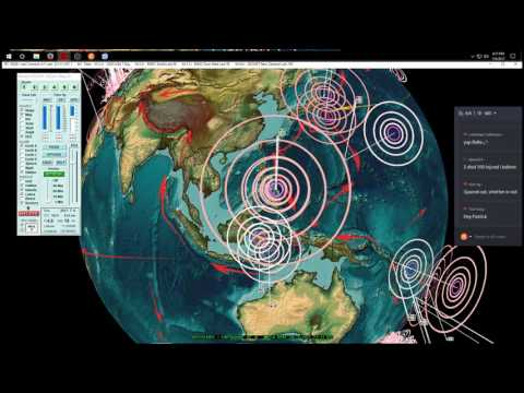 7/06/2017 -- Major earthquake activity underway - Western USA , Philippines, Japan, Europe all hit