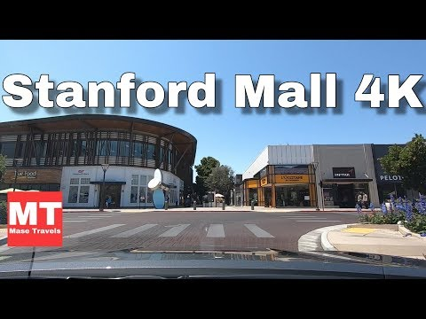 Stanford Shopping Center Palo Alto, California USA - Silicon Valley Drive 🏆