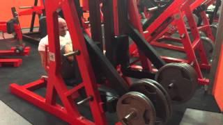 Pierwszy trening na siłowni koksa