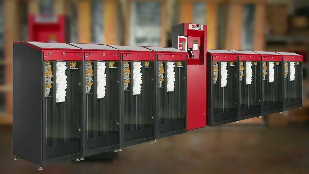 glove vending machine