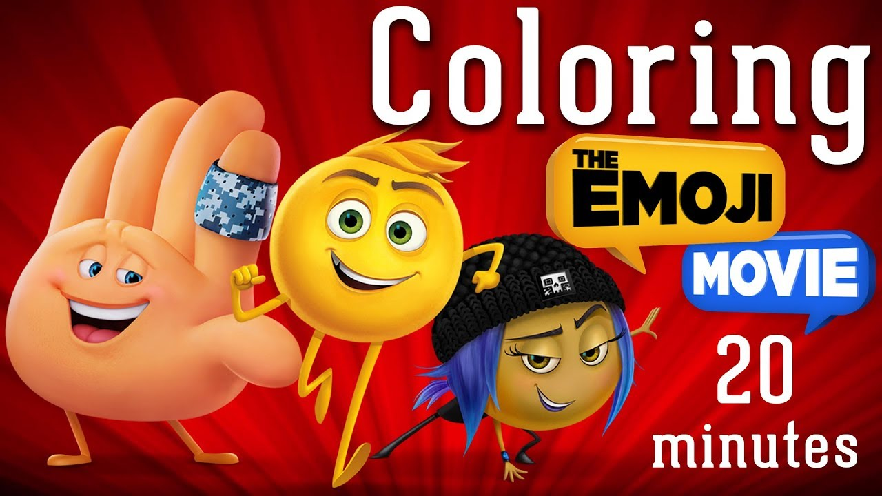 Emoji Movie Coloring Pages