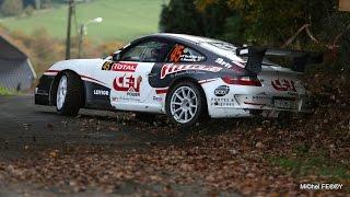Van de Wauwer Porsche 997 GT3 Amazing Pure Sound Rallye du Condroz
