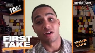 'Your Take' On Lonzo Ball And The NBA Playoffs   First Take   May 18, 2017
