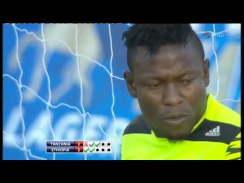 CECAFA: Tanzania Vs Ethiopia(Penalties)