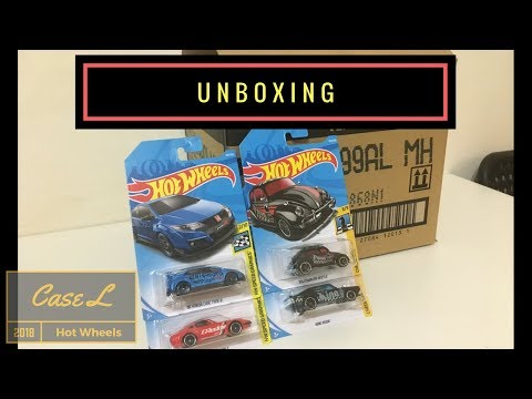 Unboxing - Hot Wheels Case L 2018