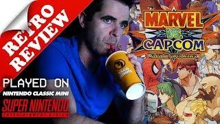 Marvel vs. Capcom on SNES Classic Retro Review