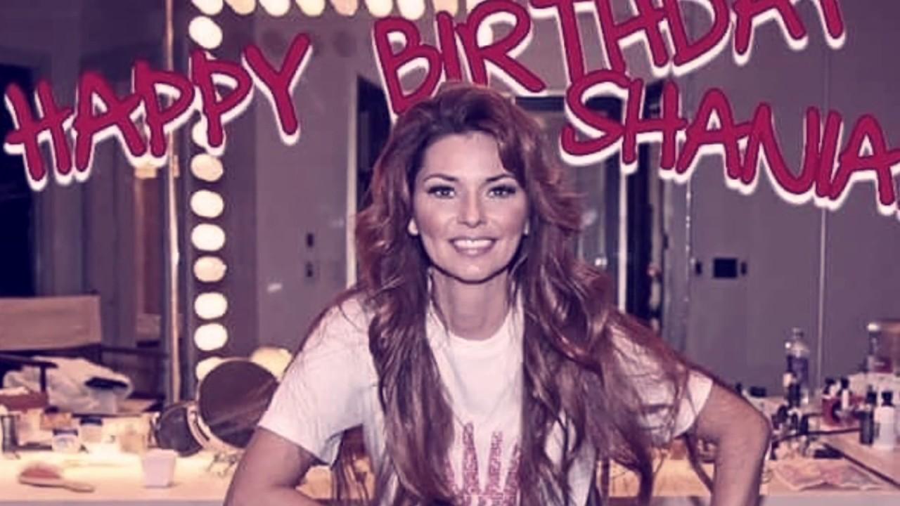 Happy Birthday Shania Twain
