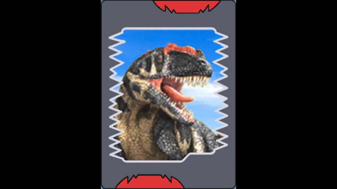 Todos Os Cart 245 Es De Dinossauros Do Dinosaur King Youtube