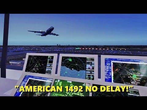 Air Traffic Controller on STEROIDS - Flight Simulator X (Multiplayer Trolling)
