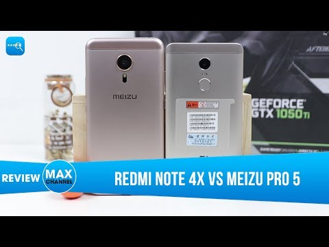 So sánh chi tiết Redmi Note 4X vs Meizu Pro 5