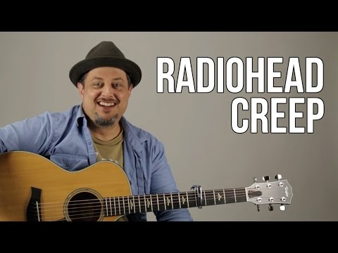 Creep - Radiohead - Guitar Lesson - How To Play On Guitar - Tutorial