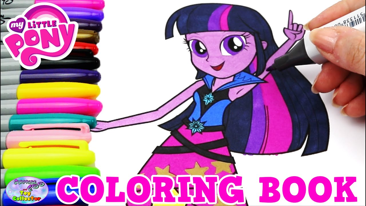 My Little Pony Coloring Book Mlp Eg Twilight Sparkle