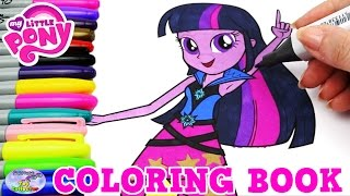My Little Pony Coloring Book MLP EG Twilight Sparkle Episode Surprise Egg and Toy Collector SETC