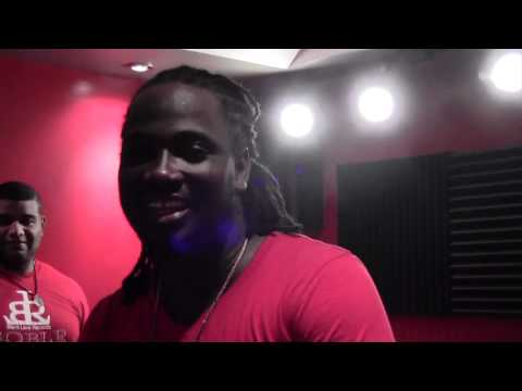 I-Octane in Studio at Bessout Black Lava Records