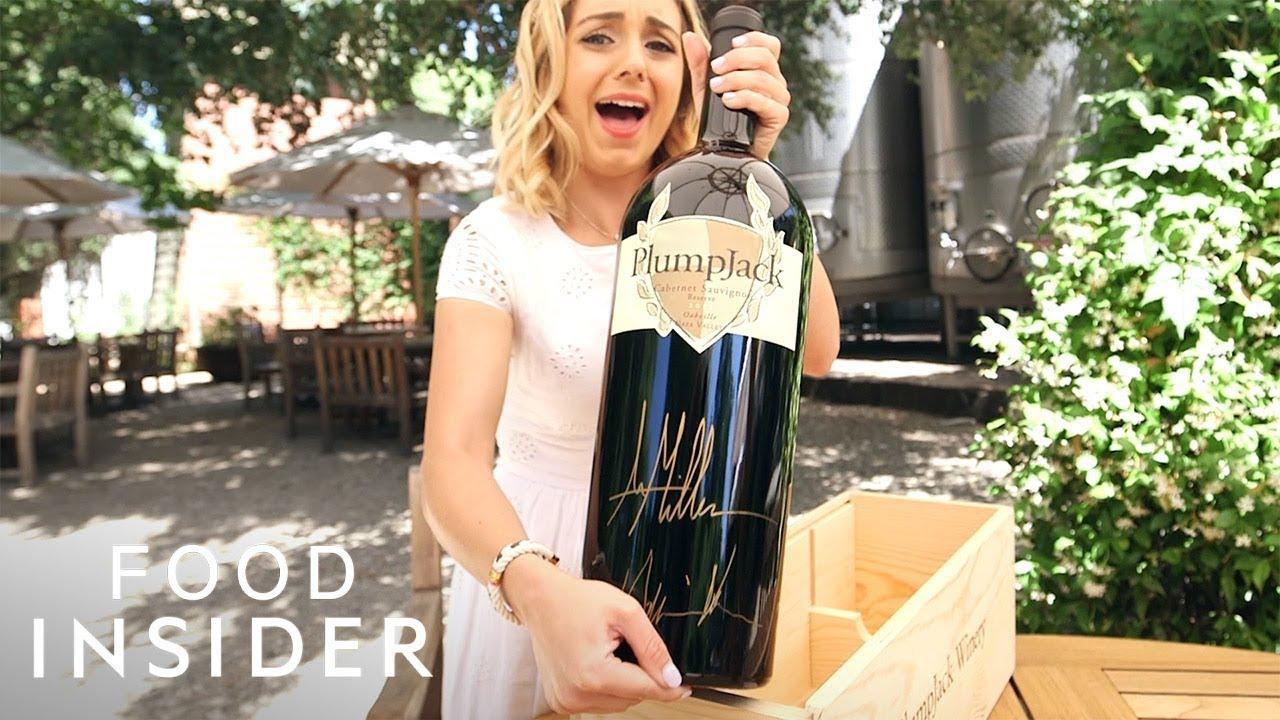 Џиновско шише вино кое може да наполни 48 чаши за сите љубители на овој пијалак