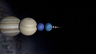 A trip through our solar system