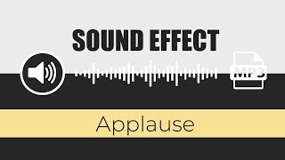 🔊 SOUND EFFECT: ( Applause ) - by Game Sounds