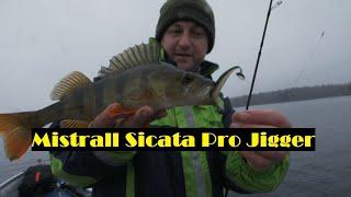 Sicata Pro Jigger Mistrall - test okoniowej wędki
