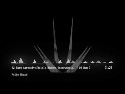 32 Bars Agressive Battle Hiphop Instrumental ( 95 Bpm ) ( Free Beat )