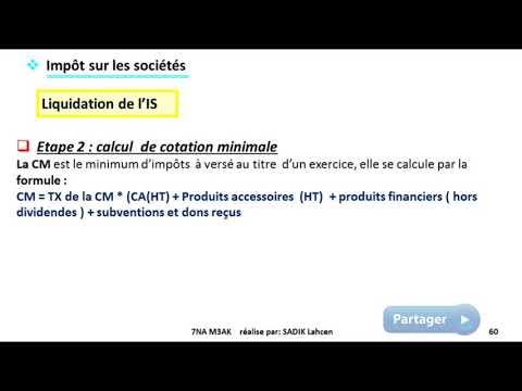 #EP 10 fiscalisé: impôts sur les sociétés (liquidation et recouvrement de l'IS)| 5/5