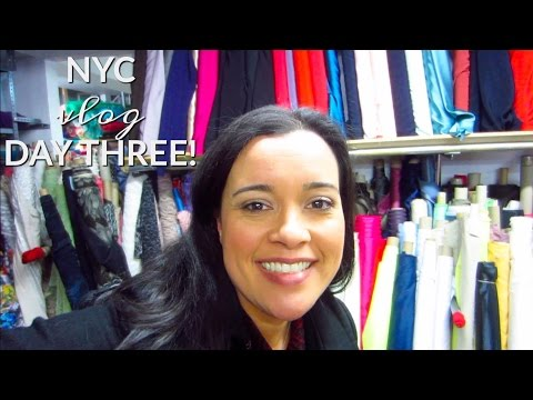 New York City, Garment District, Day Three!