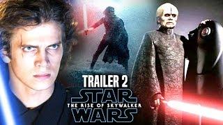 The Rise Of Skywalker New Trailer HUGE News Revealed! (Star Wars Episode 9 Trailer 2)