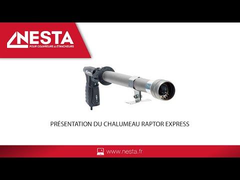 Presentation Du Chalumeau Raptor Express Youtube