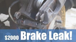 OMG! My Brakes are Leaking Fluid?! How did this happen? - PerformanceCars