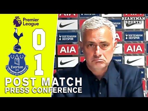 Tottenham 0-1 Everton - Jose Mourinho - Post Match Press Conference