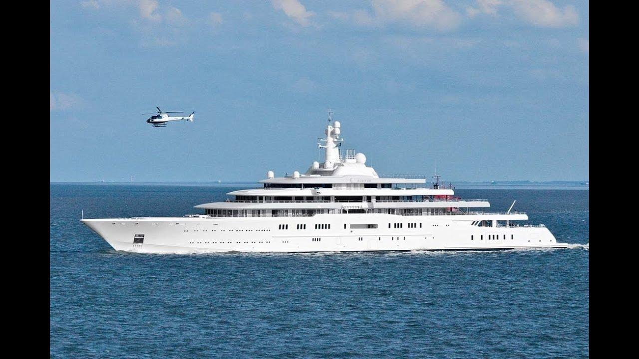 Die Größte Yacht Der Welt