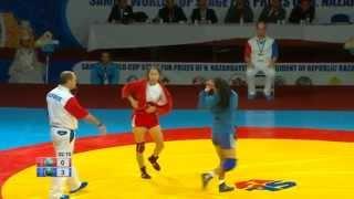 SAMBO WORLD CUP STAGE 2015 KAZAKHSTAN HIGHLIGHTS DAY 2