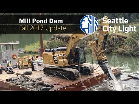 Mill Pond Dam Removal and Restoration: Fall 2017 Update  ||  Produced by Seattle City Light