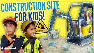 Construction Site For Kids! - Daddy Diaries: EP10