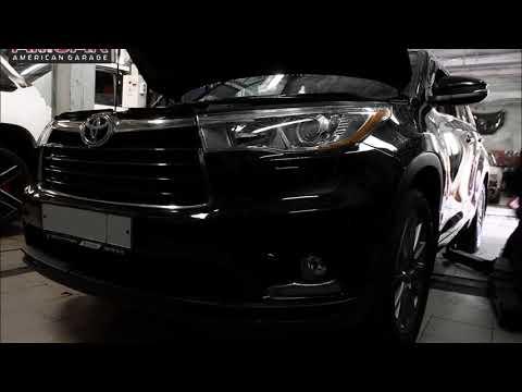 Замена тормозной системы Toyota Highlander (Тойота Хайлендер). Тюнинг тормозов
