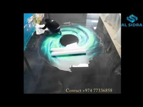 Qatar 3D EPOXY Flooring