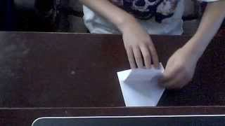 The Bullet Paper Airplane Tutorial (no Commentary)