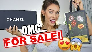 I'M SELLING SOME LUXURY ITEMS... VLOG SALE!!