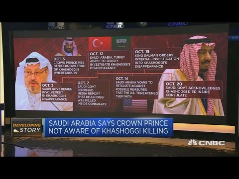 Saudi Arabia calls Khashoggi killing 'grave mistake,' says prince not aware | Capital Connection