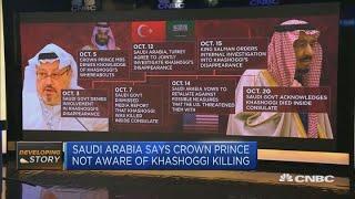 Saudi Arabia calls Khashoggi killing 'grave mistake,' says prince not aware | Capital Connection