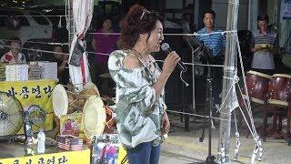 와우!대다나다^^일반인 노래@사주팔자/2019 포항도구해수욕장 허리수품바 공연단